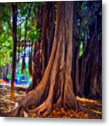 Ancient Roots Of Sicily Metal Print