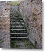 Ancient Stairs Rome Italy Metal Print