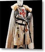 Ancient Templar Knight - 02 Metal Print