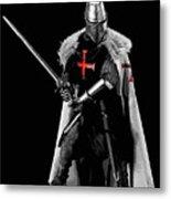 Ancient Templar Knight - 05 Metal Print