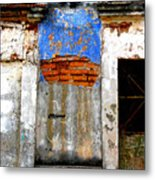 Ancient Wall 5 By Darian Day Metal Print