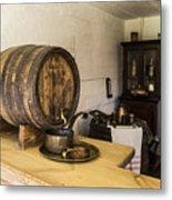 Ancient Wine Shop Metal Print