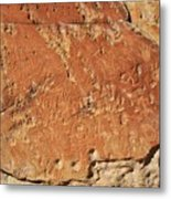 Ancient Writings  Metal Print