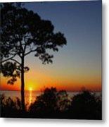Anclote Gulf Sunset Metal Print