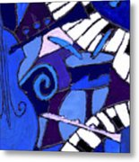 and All that Jazz 3  Metal Print