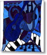 and All that Jazz one Metal Print
