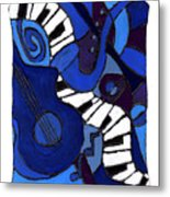 and All That Jazz two Metal Print