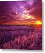 And I Dreamt Of Waking Metal Print