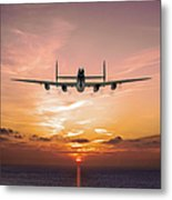 And In The Morning Metal Print