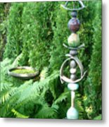 And Sculpture Garden Metal Print