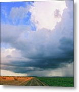 And Then The Sky Opened Metal Print