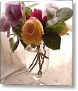 And Violet Roses Too Metal Print