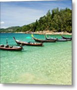 Andaman Coast Metal Print