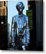 Andy Warhol New York Metal Print by Andrew Fare