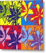 Andy's Lillies Metal Print