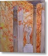 Ange  Petit Trianon Versailles Metal Print