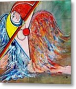 Angel - Study 1 Metal Print