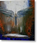 Angel Abstract  Metal Print