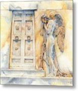 Angel At The Gate Metal Print by David Evans