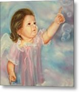 Angel Baby Metal Print by Joni McPherson