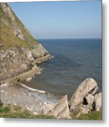 Angel Bay. Little Orme.  Metal Print