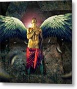 Angel Body Art Metal Print