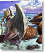 Angel By The Waters Metal Print