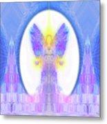 Angel Crystals 444 Metal Print