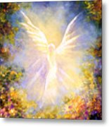 Angel Descending Metal Print