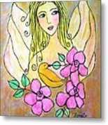 Angel-face Metal Print