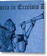 Angel Gloria In Excelsis Deo Metal Print