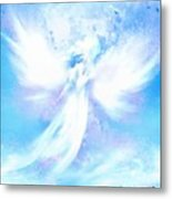 Angel In Hotty Totty In Thick Paint Metal Print
