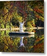 Angel In The Lake - St. Mary's Ambler Metal Print