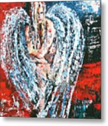 Angel In The Light Metal Print