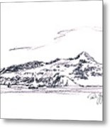 Angel Island From Sausalito Metal Print