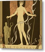 Angel Le Tombeau De Bilitis Metal Print