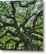 Angel Oak Tree Metal Print