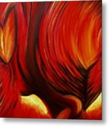 Angel Of Fire Metal Print