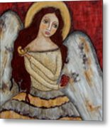 Angel Of Kindness Metal Print by Rain Ririn