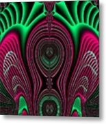 Angel Of Lifes Aura Fractal 114 Metal Print