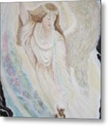 Flying Lamb Productions.   Angel Of Mercy -2 Metal Print