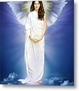 Angel Of Pure Light Metal Print