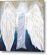 Angel Of Salvation Metal Print
