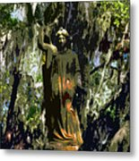 Angel Of Savannah Metal Print