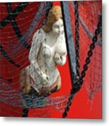 Angel Of The Seas Metal Print