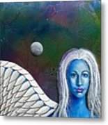 Angel Of The Shepherd Moon Metal Print by Lee Pantas