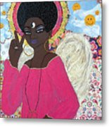 Angel Peace-n-love-n-stuff Metal Print