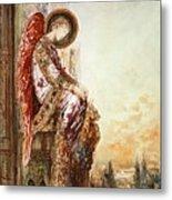 Angel Traveller Metal Print by Gustave Moreau