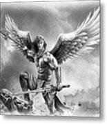 angel warrior canvas print canvas art by miro gradinscak