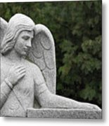 Angel Watching Over Me Metal Print